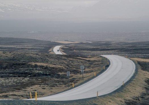 Nordic mountain road
