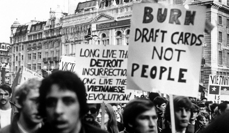 Vietnam demonstration in the US 1969