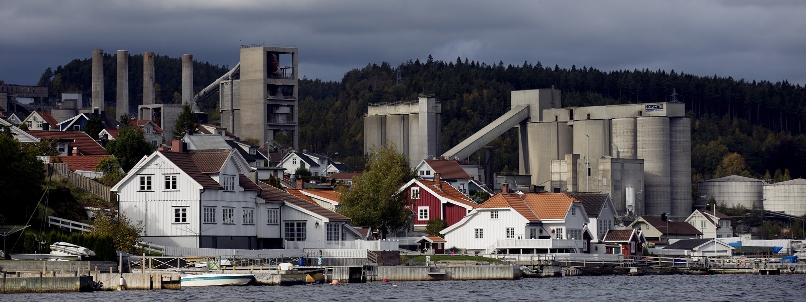 Cement Factory in Norway