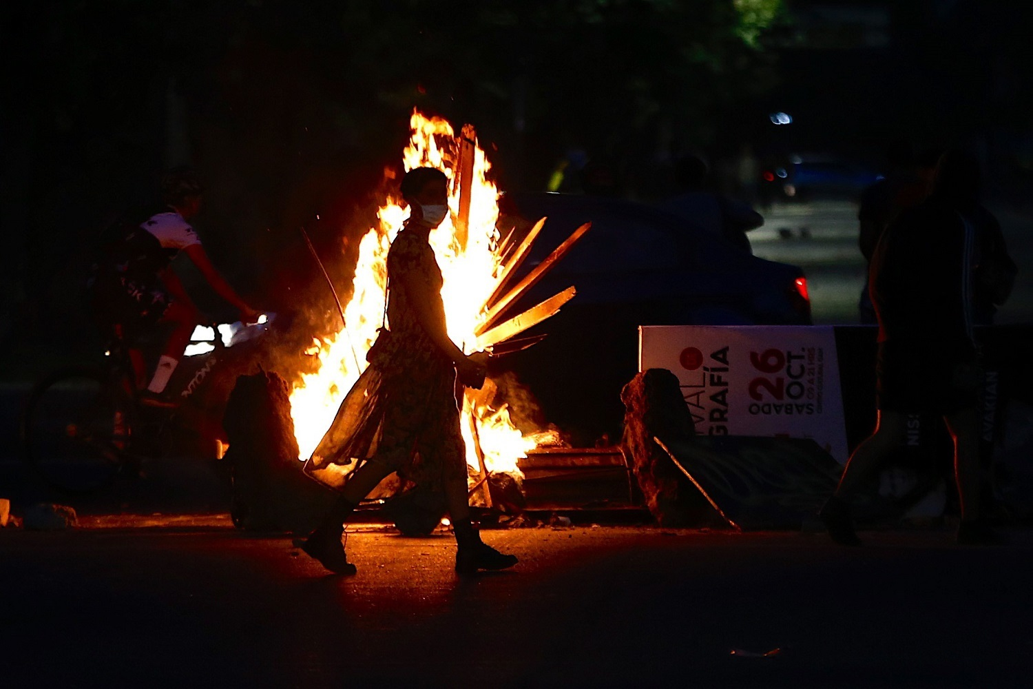 Protests in Santiago, Chile