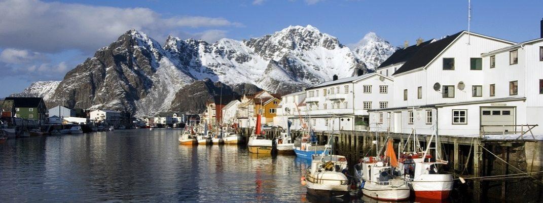 A safe haven in Henningsvær Lofoten Norway