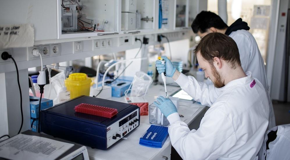 Forskere som leter etter en vaksine for Covid-19 vha biotekonolgi