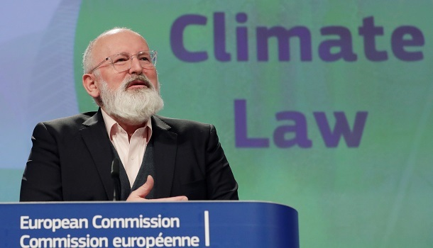EU vice president for climate and environment Frans Timmermans